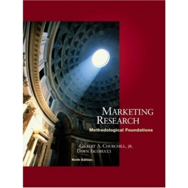 Marketing Research: Methodological Foundations, 9th Edition