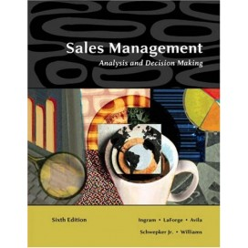 Sales Management: Analysis and Decision Making, 6th Edition