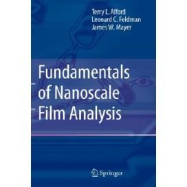 Fundamentals of Nanoscale Film Analysis, 1st Edition (Hardcover)