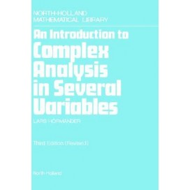 An Introduction to Complex Analysis in Several Variables, 3rd Edition