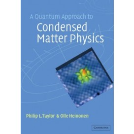 A Quantum Approach to Condensed Matter Physics, 1st Edition