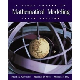 A First Course in Mathematical Modeling (Include CD-Rom)