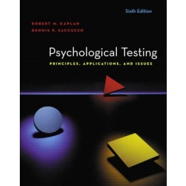 Psychological Testing: Principles, Applications, and Issues, 6th Edition