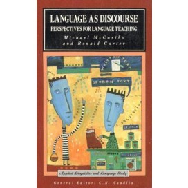 Language As Discourse: Perspectives for Language Teaching