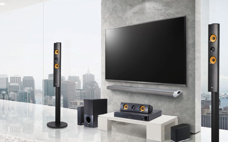 Home Theater TV Audio